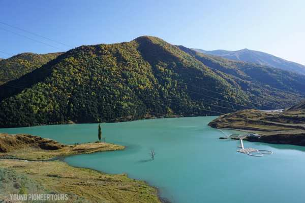 The beautiful sceneries of Derbent, in Dagestan, a region of Southern Russia