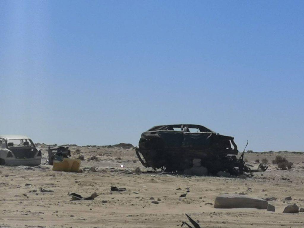 The border between Mauritania and Western Sahara