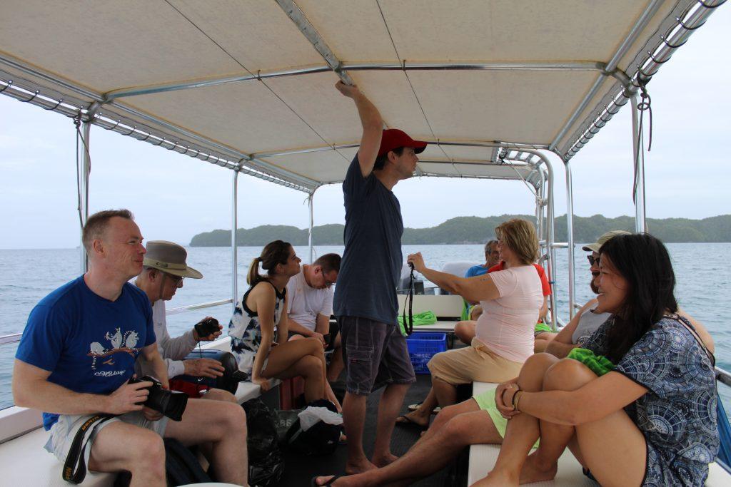 A cruise in Palau