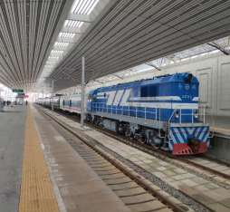 North Korea Train