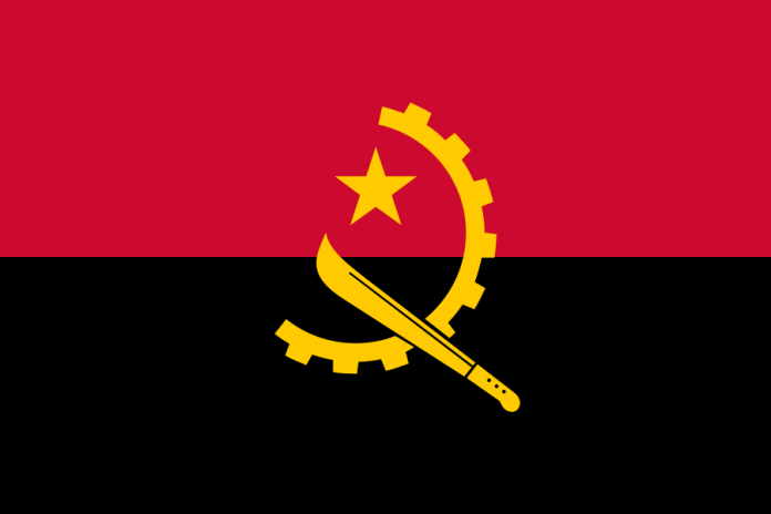 Angola Weapon Flag
