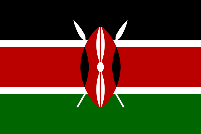 Kenya Flag Weapon