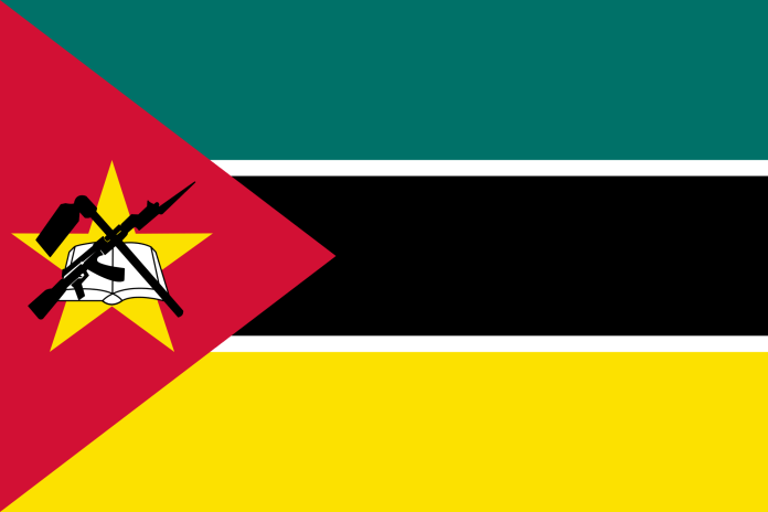 Mozambique weapon flag