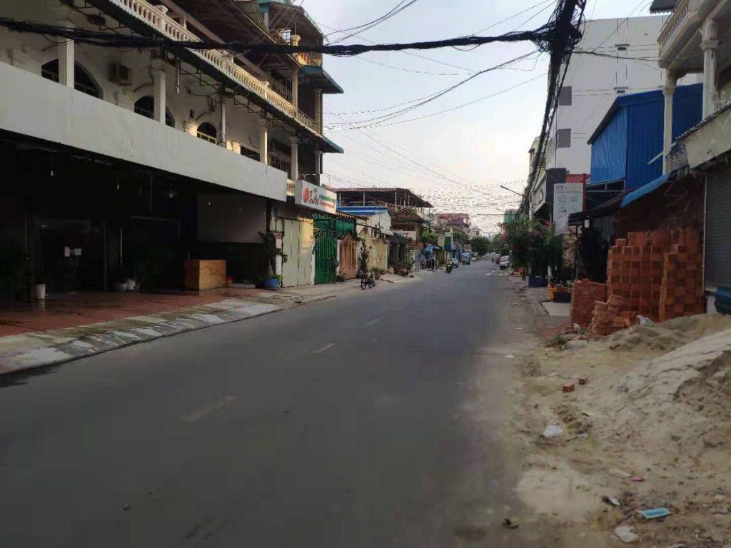 Cambodia enters lockdown