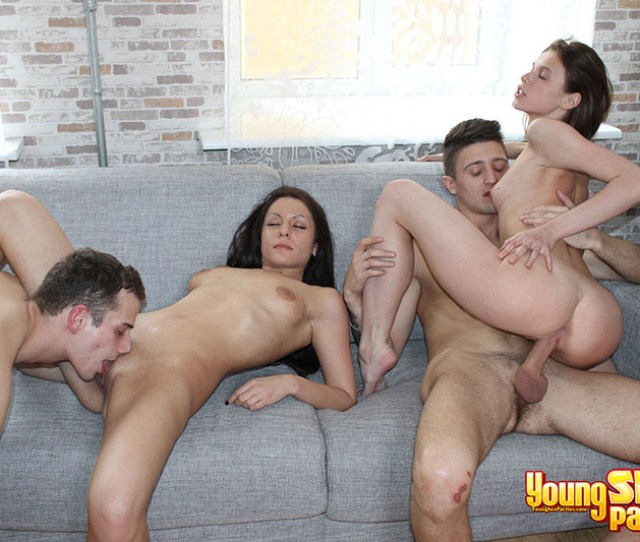 Photo Gallery Where Two Couples Are Having Foursome Sex