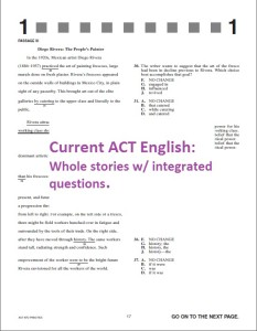 Current ACT English