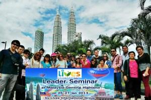 เกนติ้ง กัวลาลัมเปอร์ lives international Malaysia Genting Kualalumpur Aimstar Aimstar Network MLM paskorn พัสกร หนึ่ง