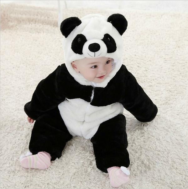 Baby panda outfit, Crochet Panda costume for Newborn to 12 Months, Made to order, Great as an Panda Baby Shower Gift or Coming Home Outfit.