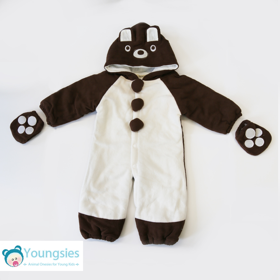 c0873d07834c3 Toddler and Baby Bear Onesie Costume