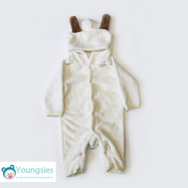 76ded1242 Bunny Costume Onesie for Baby/Toddler - White