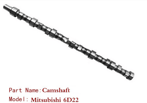 6D22 6D22T Engine Camshaft For Mitsubishi Diesel Engine