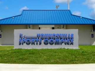 youngsville-sports-complex-sign-close-up