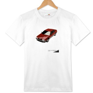 T-shirt bianca Alfa Romeo 164