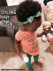 Dressed my baby for under $5