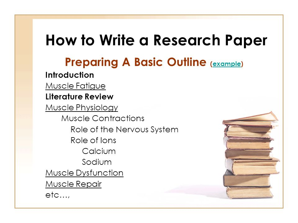 How To Write A Research Paper For College YOUniversityTV