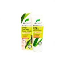 Dr.Organic Tea Tree Face Wash 200ml