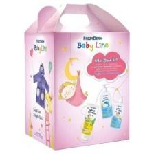 Frezyderm Promo New Born Kit Girl Baby Cream 175ml & Baby Bath 300ml & Baby Shampoo 300ml & ΔΩΡΟ Μπουρνούζι για Κορίτσι