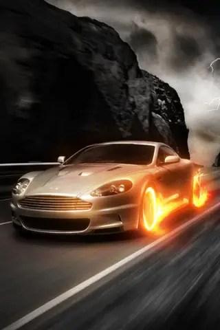 3d Moving Wallpaper Iphone 6 Aston Martin Image Et Logo Anim 233 Gratuit Pour Votre Mobile