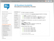 Yes, aDSL2+ is available!