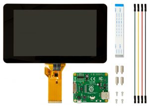 "7"" touchscreen - 800 x 480"