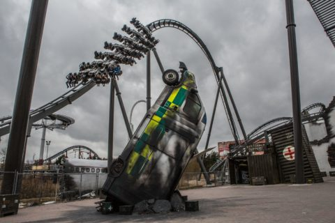 THE SWARM at THORPE PARK 6
