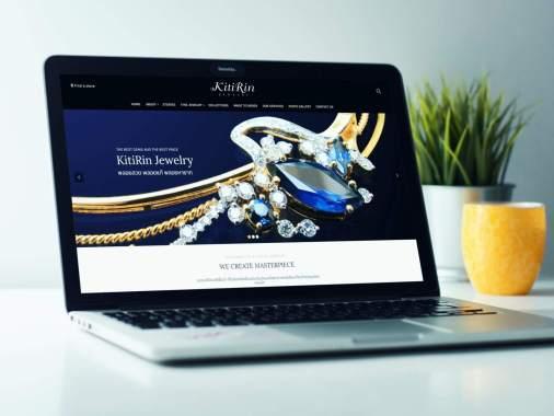เว็บไซต์ Kitirinjewelry