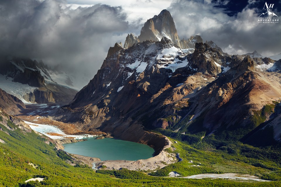 Mount Fitz Roy and Laguna Torre Los Glaciares National Park Patagonia Argentina Wedding