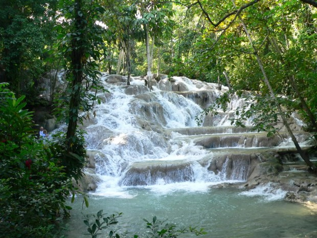 Dunns River Falls Jamaica  YourAmazingPlacescom