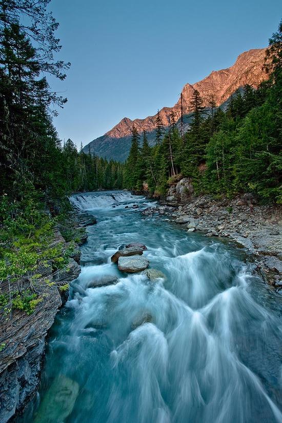Glacier National Park Magnet