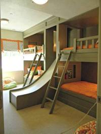 free bunk bed plans with slide  woodworktips
