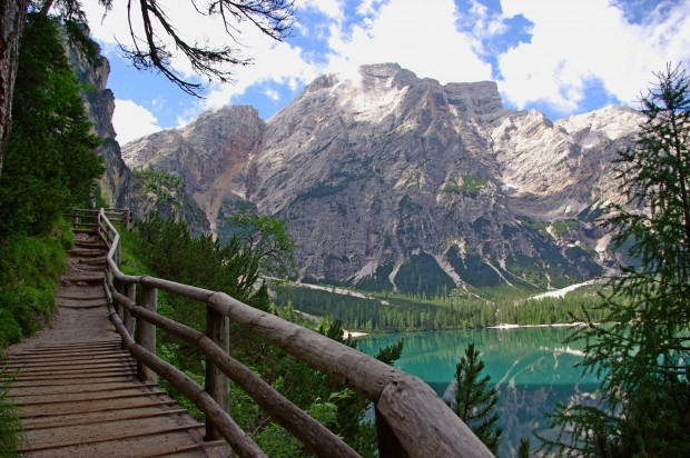 Relax At The Lake Braies Italy