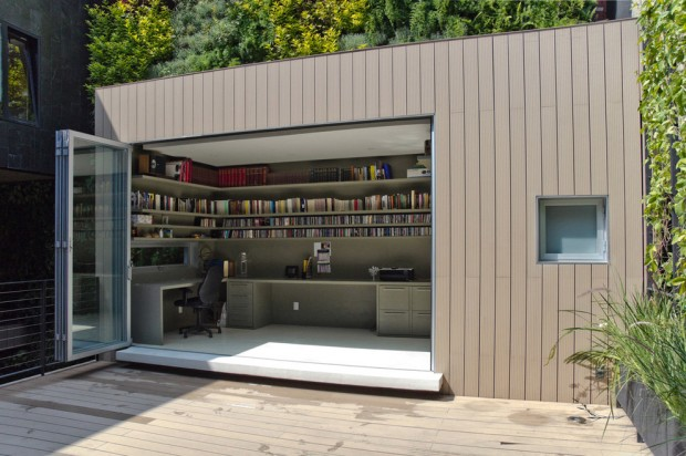 The Perks of Having a Backyard Office