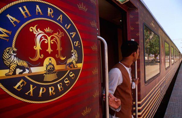 Onboard The Maharaja Express TajMahal Seems Ever More Magical!