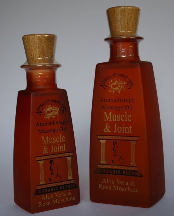 muscle and joint massage oil
