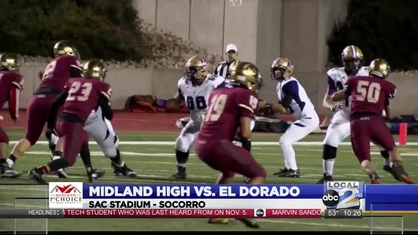 Midland High defeats El Paso El Dorado in Bi-District_43997595-159532