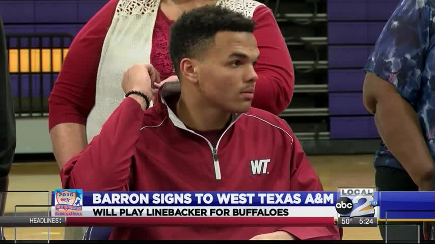 Joseph Barron Signs With West Texas A-M_06194671