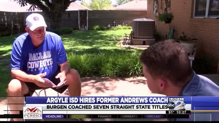Argyle ISD Confirms Hiring of Former Andrews Golf Coach_65683234