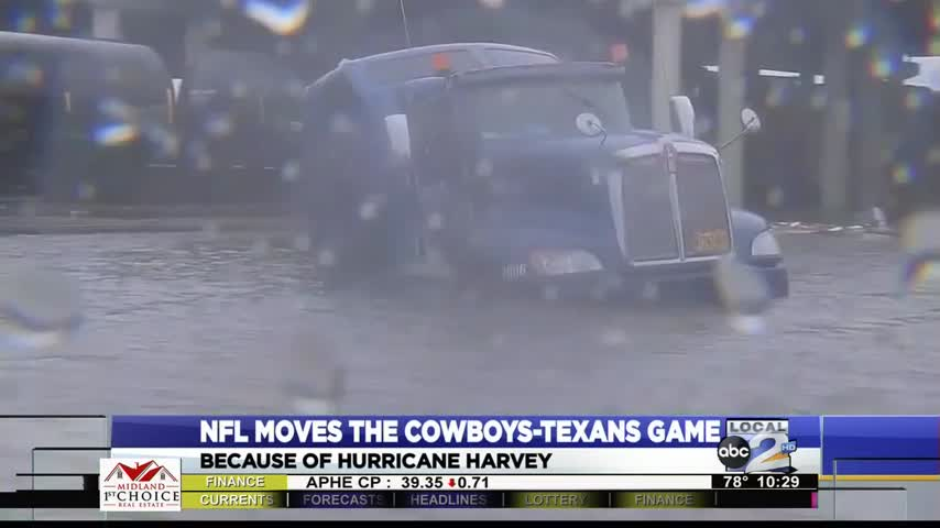 Dallas Cowboys Insider-Cowboys-Texans moved due to hurricane_01765688