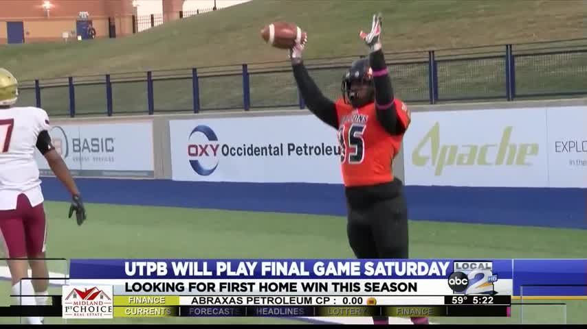 UTPB With One Last Chance to Win at Home_33105348