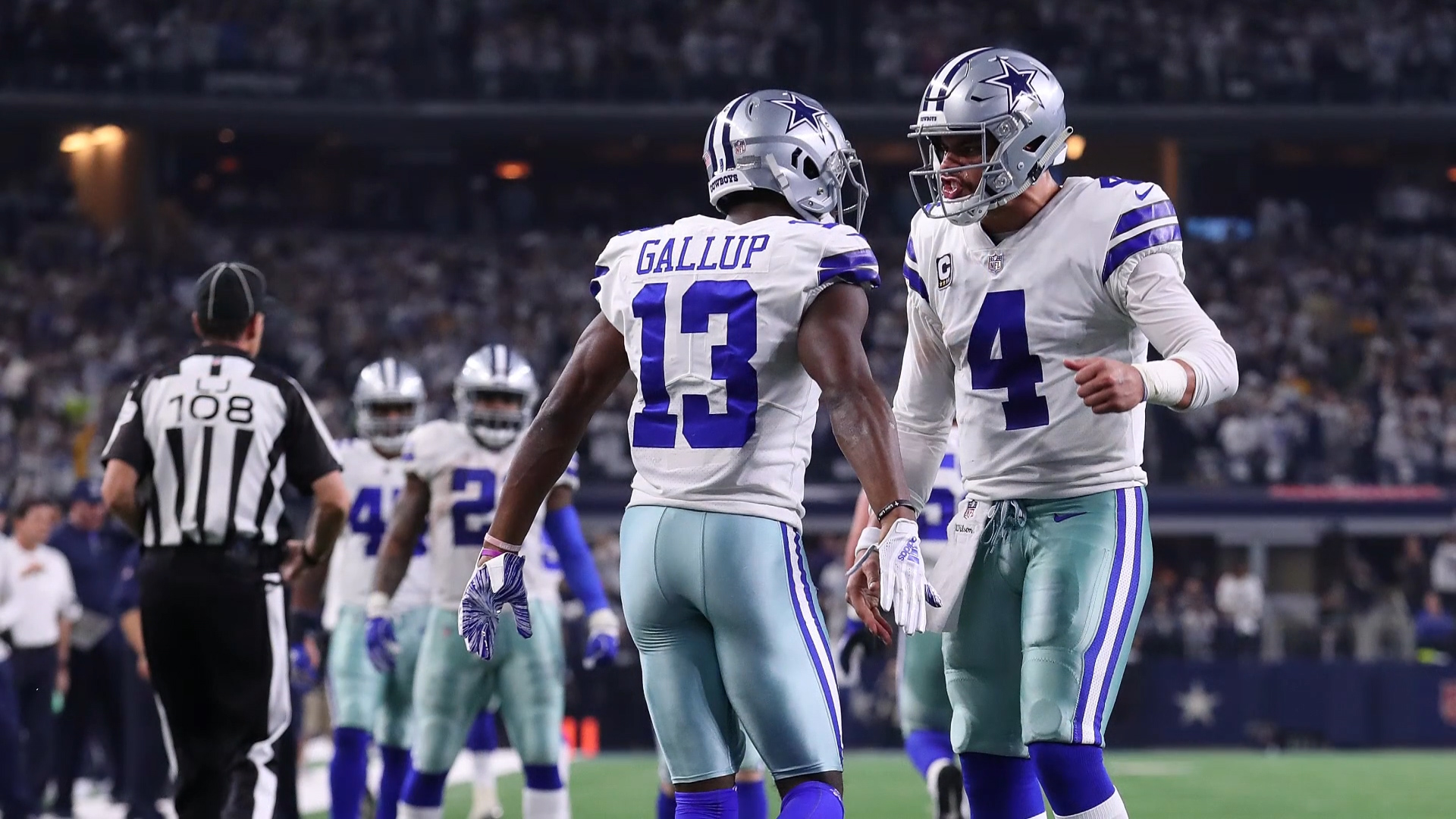 Michael Gallup Cowboys Getty