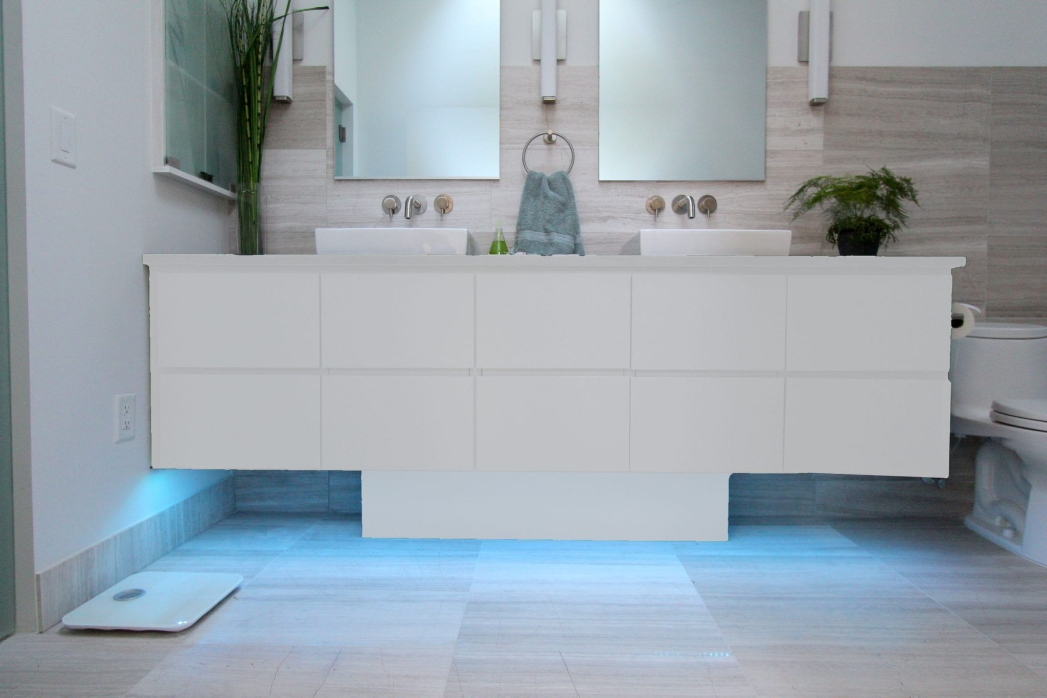 Cool Gray Vanity Luxury Bathroom Products
