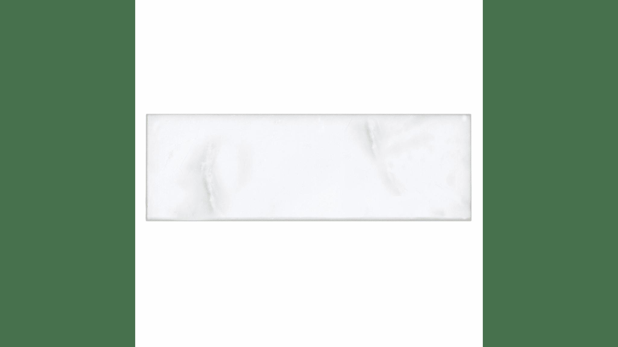 Hampton Carrara Polished Marble Subway Tile 4x12 In Luxury