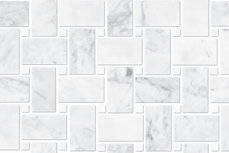 Ashford Carrara Pol Niles With White Dot Marble Luxury