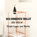Ikea Sunnersta Bar Cart Hack Diy Your Beauty