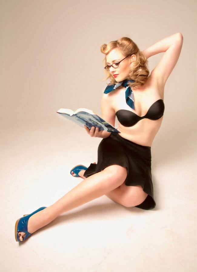 Pin up fotoshooting