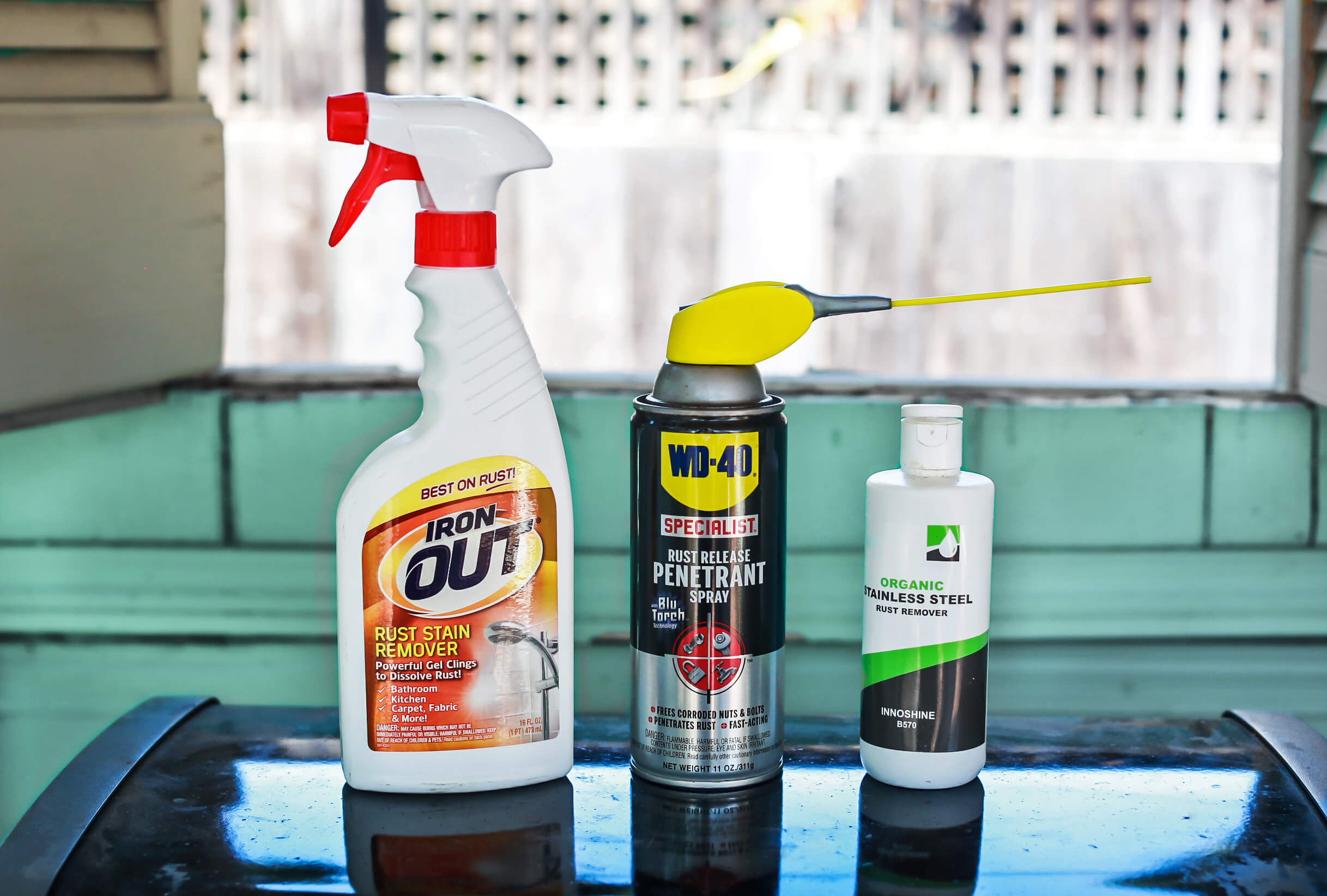 the best rust remover