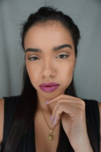 your best face first, yourbestfacefirst, yourbff, yourbff beauty look spring, spring makeup, spring cosmetics, spring how-to beauty,  purple lipstick, tarte cosmetics beauty look, spring time beauty makeup cosmetics,