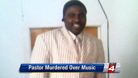 pastor killed over music