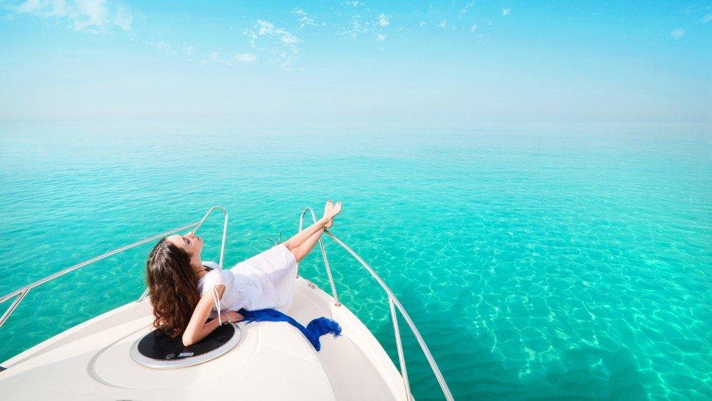 Girl Goldfish Wallpaper Bvi Yacht Charter Catamaran Motor Yacht Sailboat
