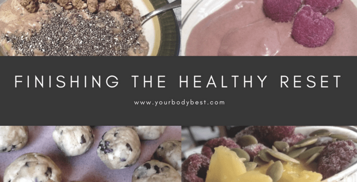 reflecting on the healthy reset